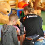 Fundacja Kumak przeprowadziła zajęcia pod nazwą Pluszakowe Pogotowie w SP34