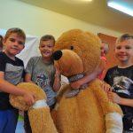 W Zespole Szkół Sportowych w Rybniku (ZSS w Rybniku) pojawiło się Pluszakowe Pogotowie , które zorganizowała Fundacja Kumak