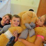W Zespole Szkół Sportowych w Rybniku (ZSS w Rybniku) pojawiło się Pluszakowe Pogotowie zorganizowane przez Fundację Kumak