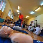 Fundacja Kumak i Pluszakowe Pogotowie przeszkoliły dzieci z ZSS w Rybniku z zakresu nauki pierwszej pomocy przedmedycznej