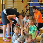 Pluszakowe Pogotowie z Fundacji Kumak gościło w Zespole Szkół Sportowych w Rybniku przy ulicy Grunwaldzkiej