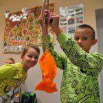 Fundacja Kumak zorganizowała warsztaty z rękodzieła Dzieciaki i Zwierzaki w Zespole Szkół Sportowych w Rybniku