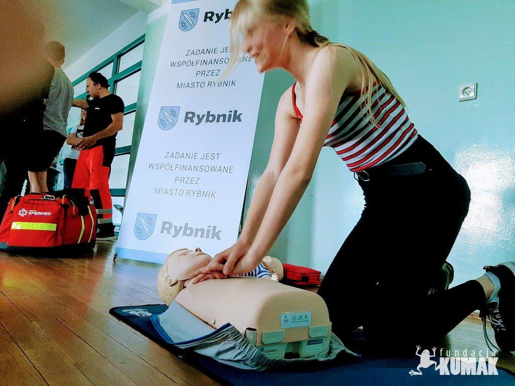 Zajęcia Pluszakowe Pogotowie II zostały zorganizowane przez Fundację Kumak i współfinansowane są przez Miasto Rybnik