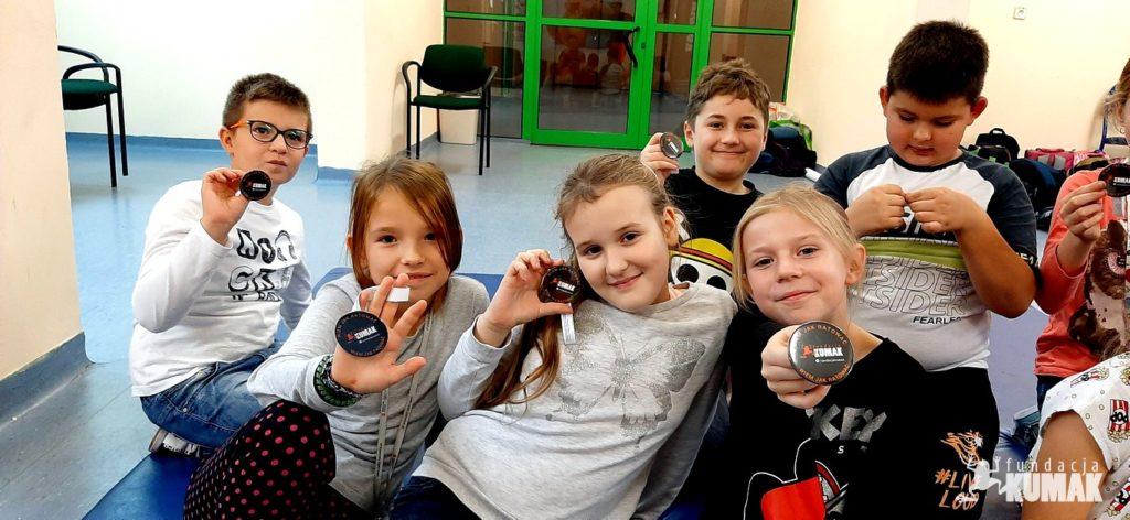 Fundacja Kumak przeprowadziła warsztaty z blisko dwustoma uczniami szkół podstawowych z Gaszowic i Jejkowic