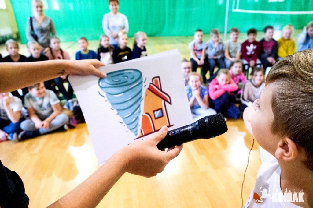 Fundacja Kumak przeprowadziła zajęcia z pierwszej pomocy w szkole podstawowej w Turku
